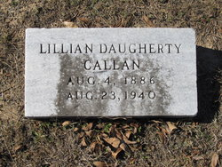 Lillian <I>Daugherty</I> Callan