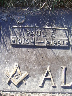 Paul Franklin Allison