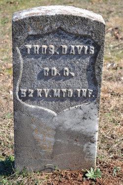Thomas Davis - Find A Grave Memorial