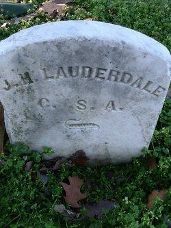 J H Lauderdale
