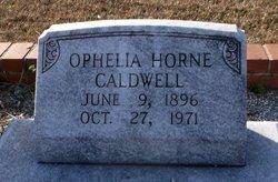 Ophelia <I>Horne</I> Caldwell