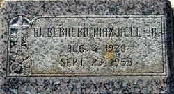 Walter Bernerd Maxwell, Jr