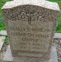 Nealey C. <I>Morgan Gordon Spearman</I> Cooper