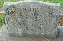 Hattie <I>McCleskey</I> Bowman