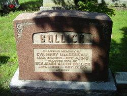 Eva Mary <I>MacDougall</I> Bullick