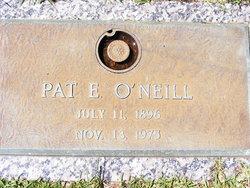 """Patrick Emmet """"Pat"""" O'Neill"""