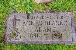 Agnes <I>Blasko</I> Adams