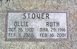 Ruth Esther <I>Wirch</I> Stover