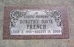 Dorothy <I>Davie</I> French