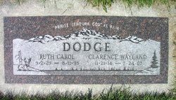 Ruth Carol <I>Hart</I> Dodge