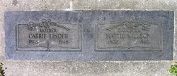 Carrie E. <I>Horn</I> Linder
