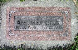 Ruby <I>Johnson</I> Ostlund