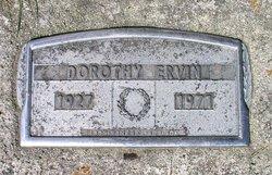 Dorothy Ervin