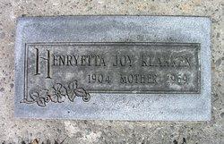 Henryetta Joy <I>Hoppins</I> Klakken