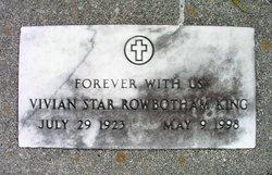 Vivian Star <I>Rowbotham</I> King