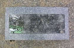 Benjamin Harrison Hayes