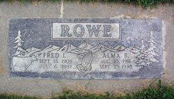 Alma B. <I>Syth</I> Rowe