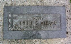 """Philip G. """"Rusty"""" Albano"""