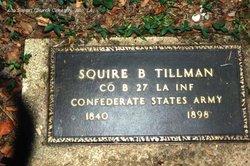 Squire B Tillman