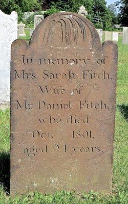 Sarah <I>Sherwood</I> Fitch