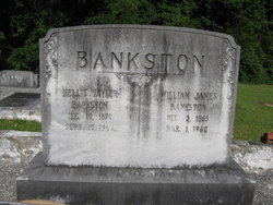 "Amelia Charity ""Mellie"" <I>Taylor</I> Bankston"
