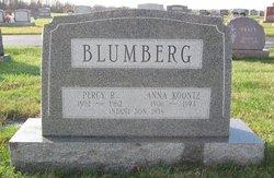 Anna <I>Koontz</I> Blumberg