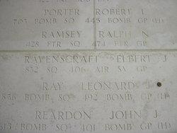 Sgt Elbert J Ravenscraft