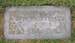 Victoire <I>Lussier</I> Doyon