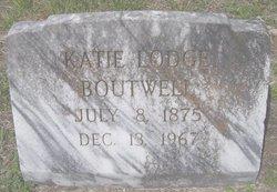 "Catherine ""Katie"" <I>Thomas</I> Boutwell"