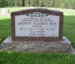 Josephine Elizabeth <I>Bunn</I> White
