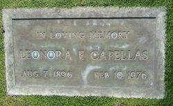Leonora <I>Franca</I> Capellas