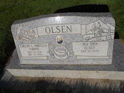 Evelyn L <I>Hartley</I> Olsen