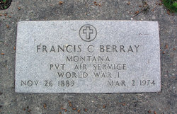 "Francis Casper ""Frank"" Berray"