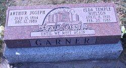 Elda Temple <I>Nielson</I> Garner