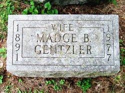 Madge <I>Bressler</I> Gentzler