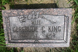 Gertrude C King