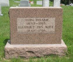 Harriet <I>Baker</I> Brame