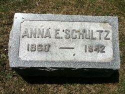 Anna E. <I>Long</I> Schultz