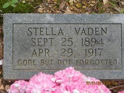 Stella C. <I>Vaden</I> Carrithers