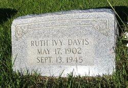 Ruth <I>Ivy</I> Davis