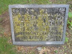 Helen A. <I>Whitney</I> Parker
