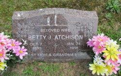 Betty J Atchison