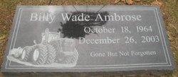 Billy Wade Ambrose