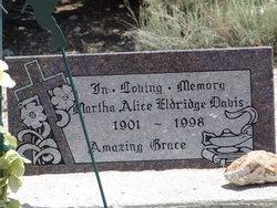 Martha Alice <I>Eldridge</I> Davis