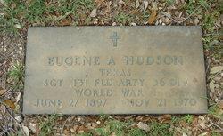 Sgt Eugene Arthur Hudson