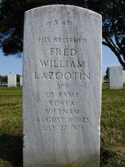 Fred William Lazootin
