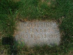 Catherine <I>McGoey</I> Leonard