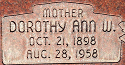 Dorothy Ann <I>Wright</I> Smith
