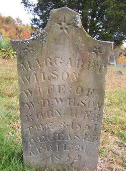 Margaret <I>Rader</I> Wilson