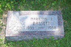 Marietta J <I>Meyer</I> Bassett